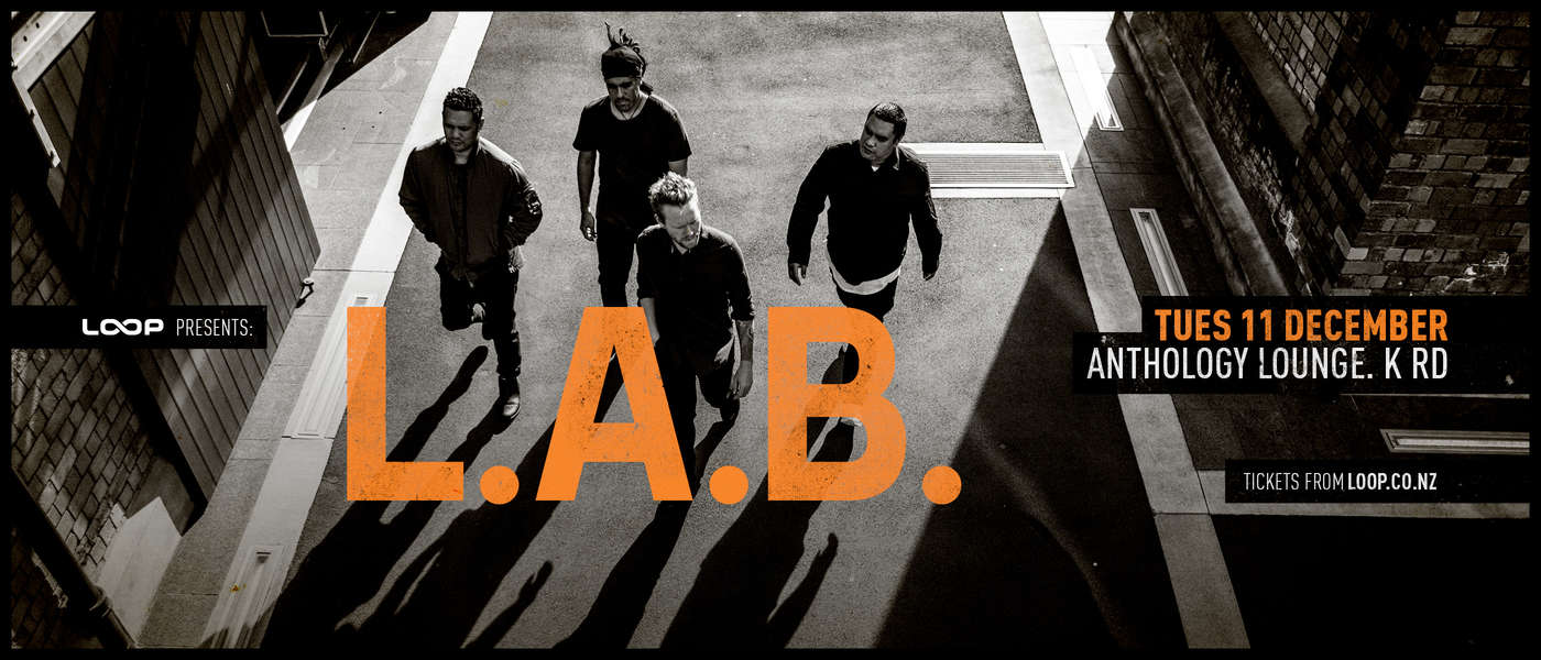 L.A.B. - Show & Music Video Shoot - Auckland