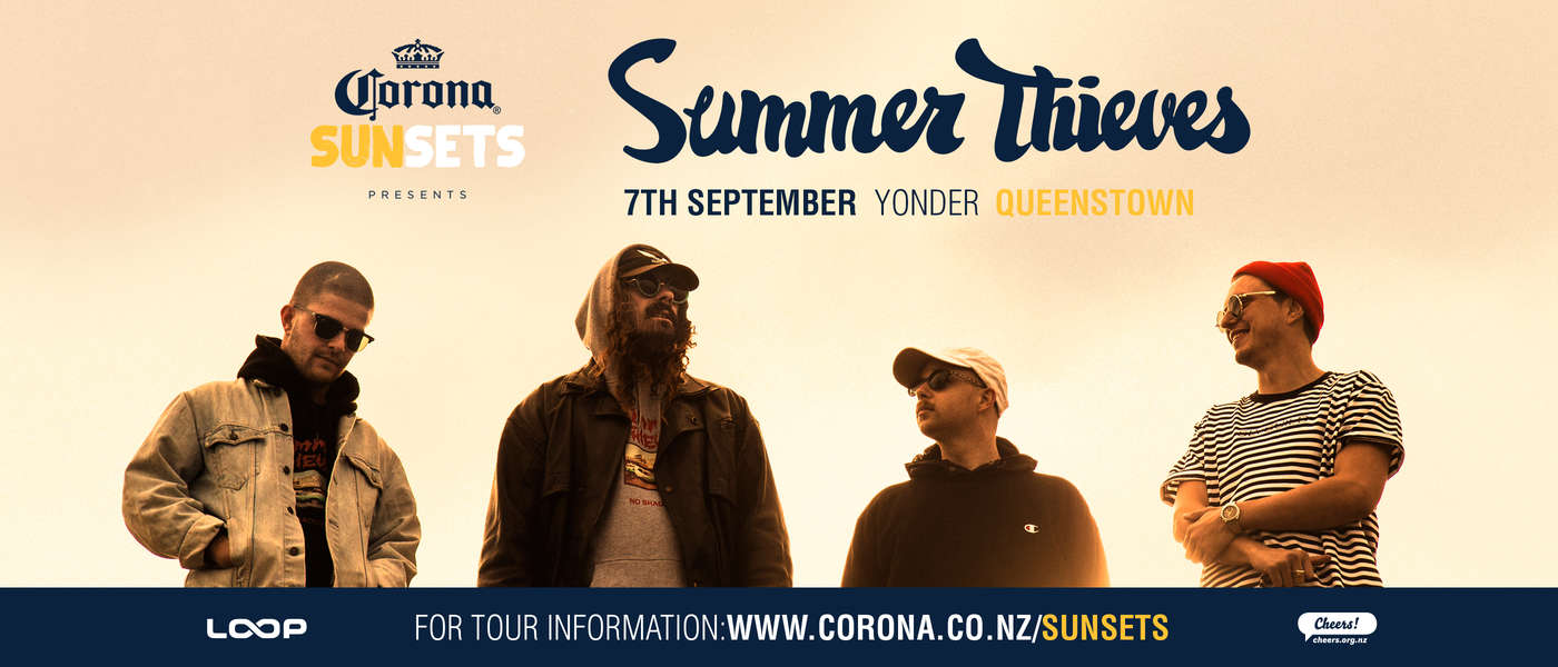 Corona Sunsets Presents Summer Thieves Queenstown