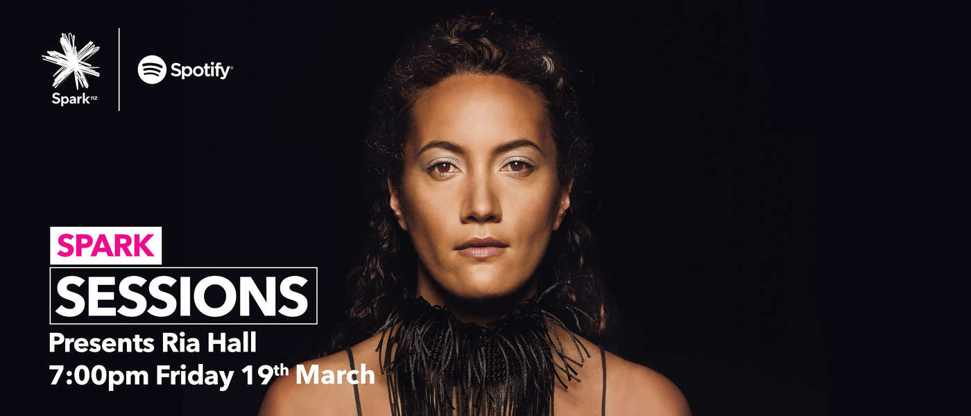 Spark Sessions: Ria Hall Live From Massey University