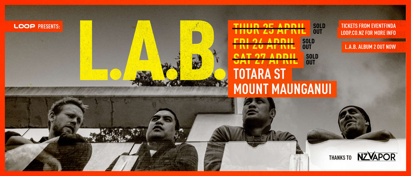 L.A.B. Live at Totara Street [SOLD OUT]