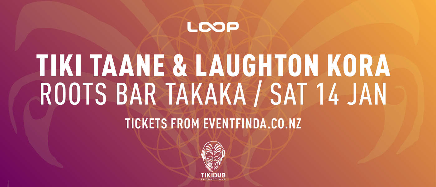 Tiki Taane & Laughton Kora, Roots Bar