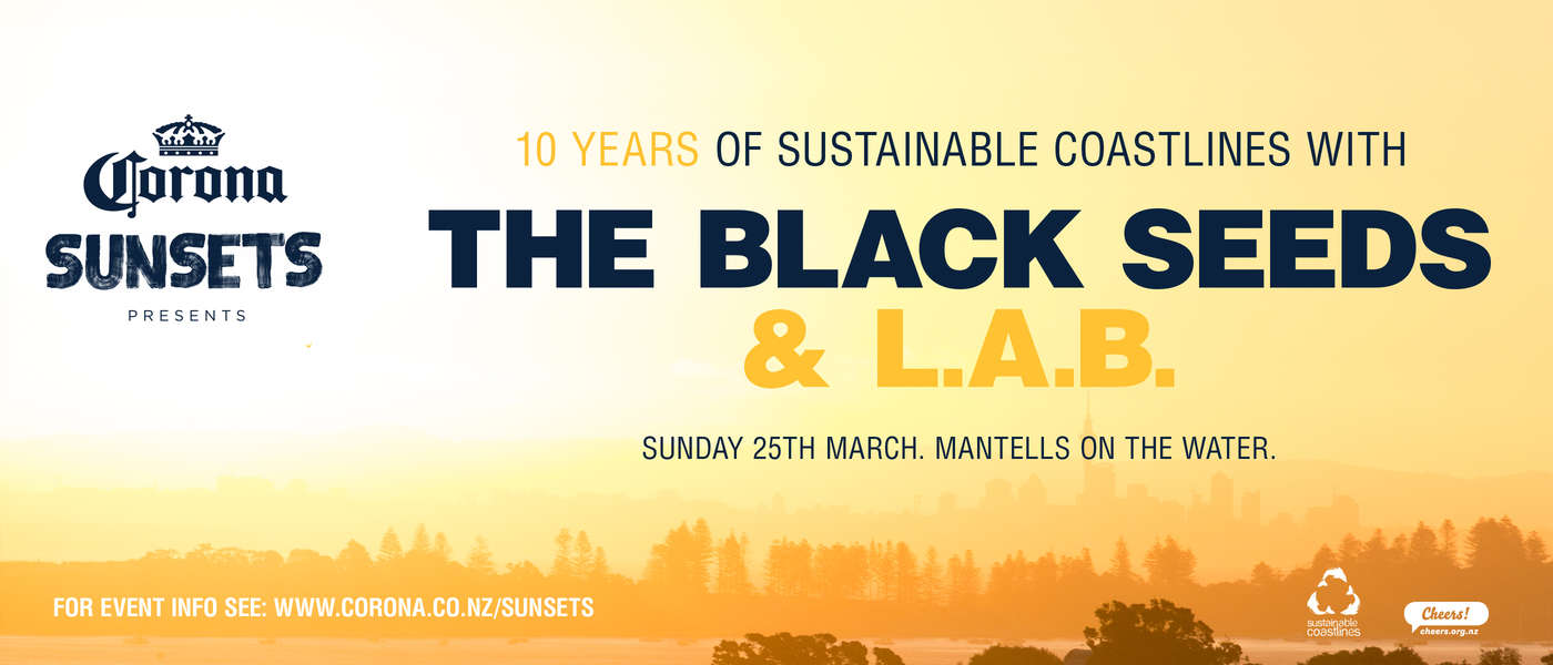 10 Years Of Sustainable Coastlines w/ The Black Seeds & L.A.B.