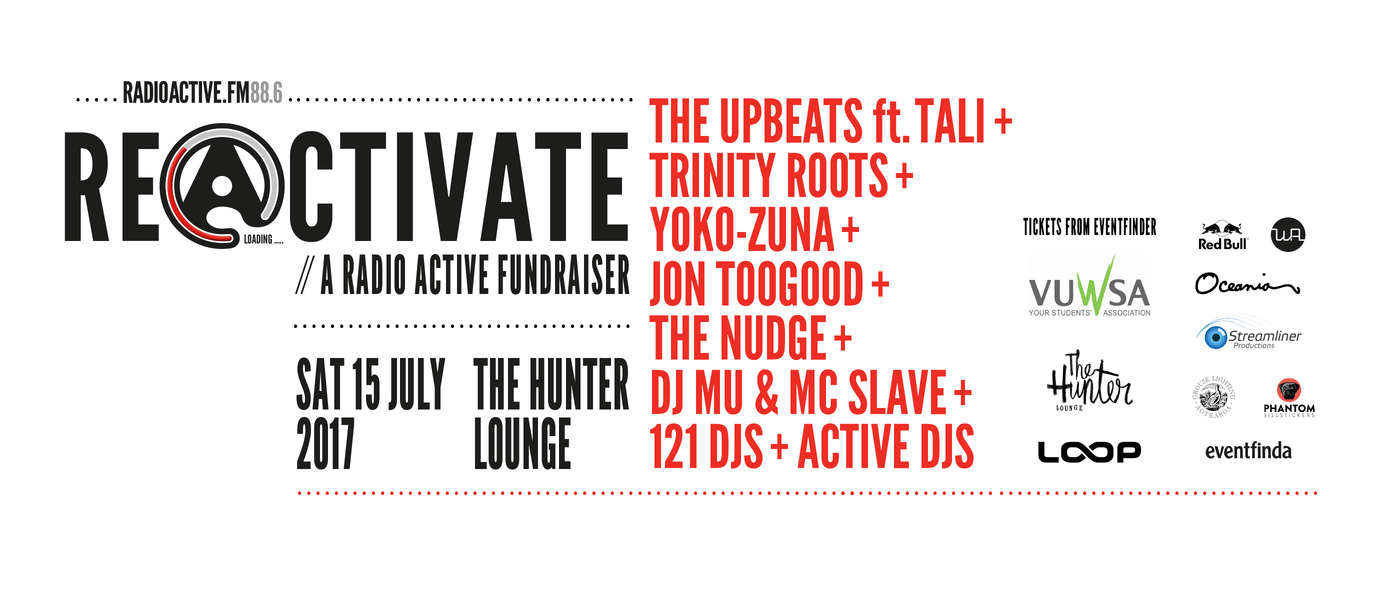 Reactivate - A Radio Active Fundraiser