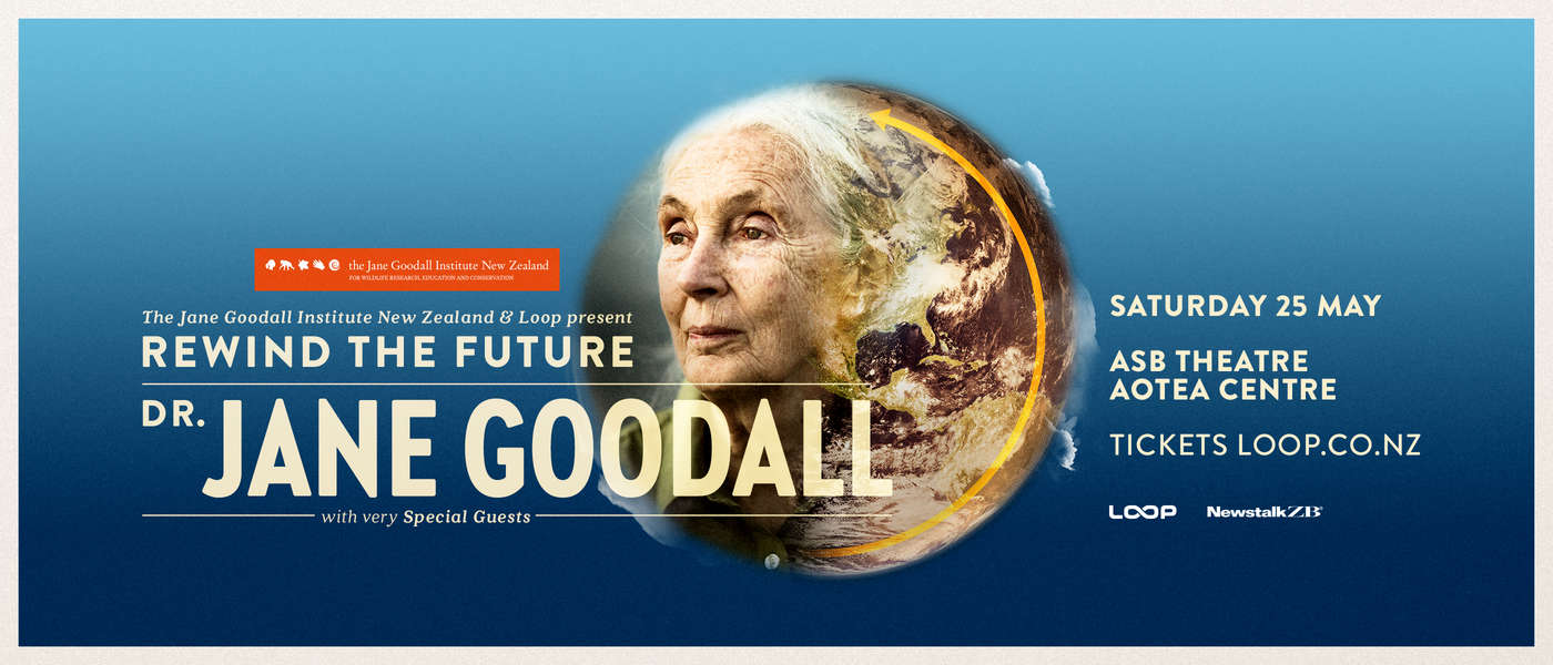Dr Jane Goodall - Rewind The Future Auckland