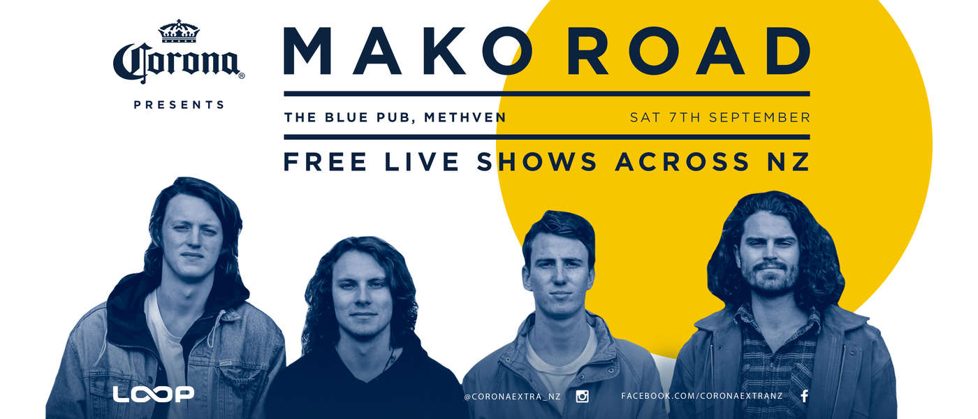 Corona Presents Mako Road - Methven