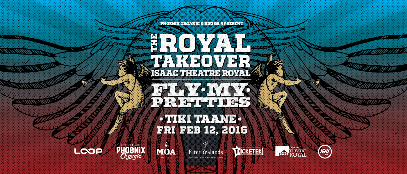 THE ROYAL TAKEOVER - Fly My Pretties & Tiki