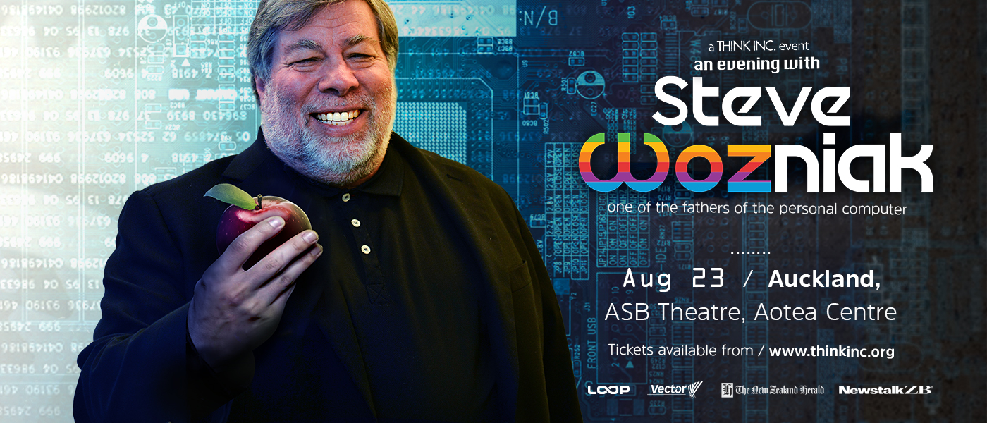 An Evening With Apple Co-Founder Steve Wozniak