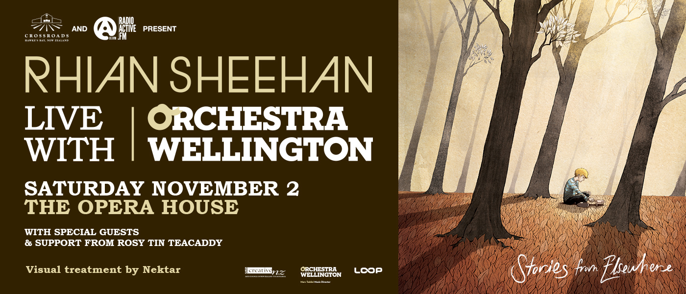 Rhian Sheehan Live with Orchestra Wellington