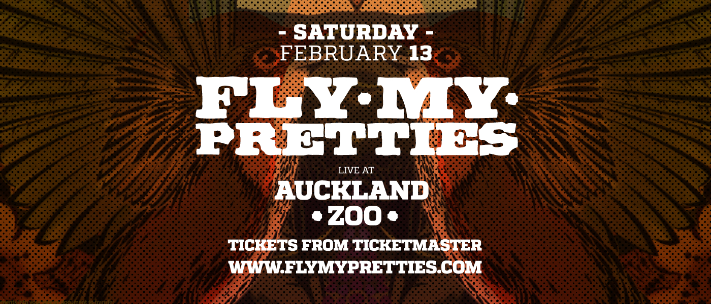 FLY MY PRETTIES Live at Auckland Zoo